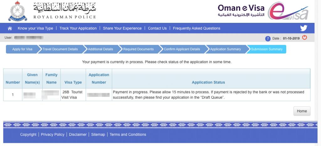 Oman Visa 01